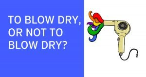 Illustration of blow dryer