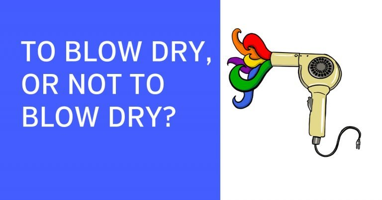 Should you blow dry in your salon during COVID