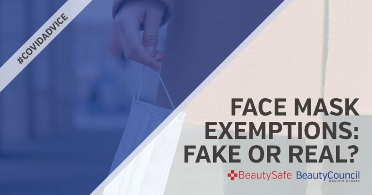 Face Mask Exemptions – Fake or Real?