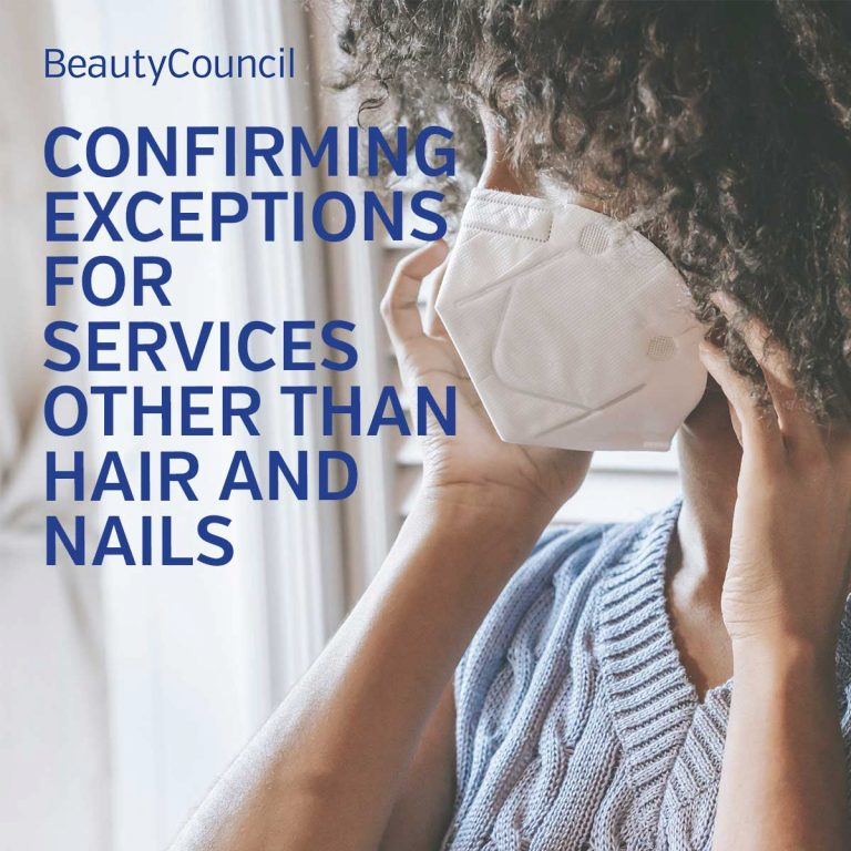 Update: Exceptions to health orders in BC beyond hair and nail services