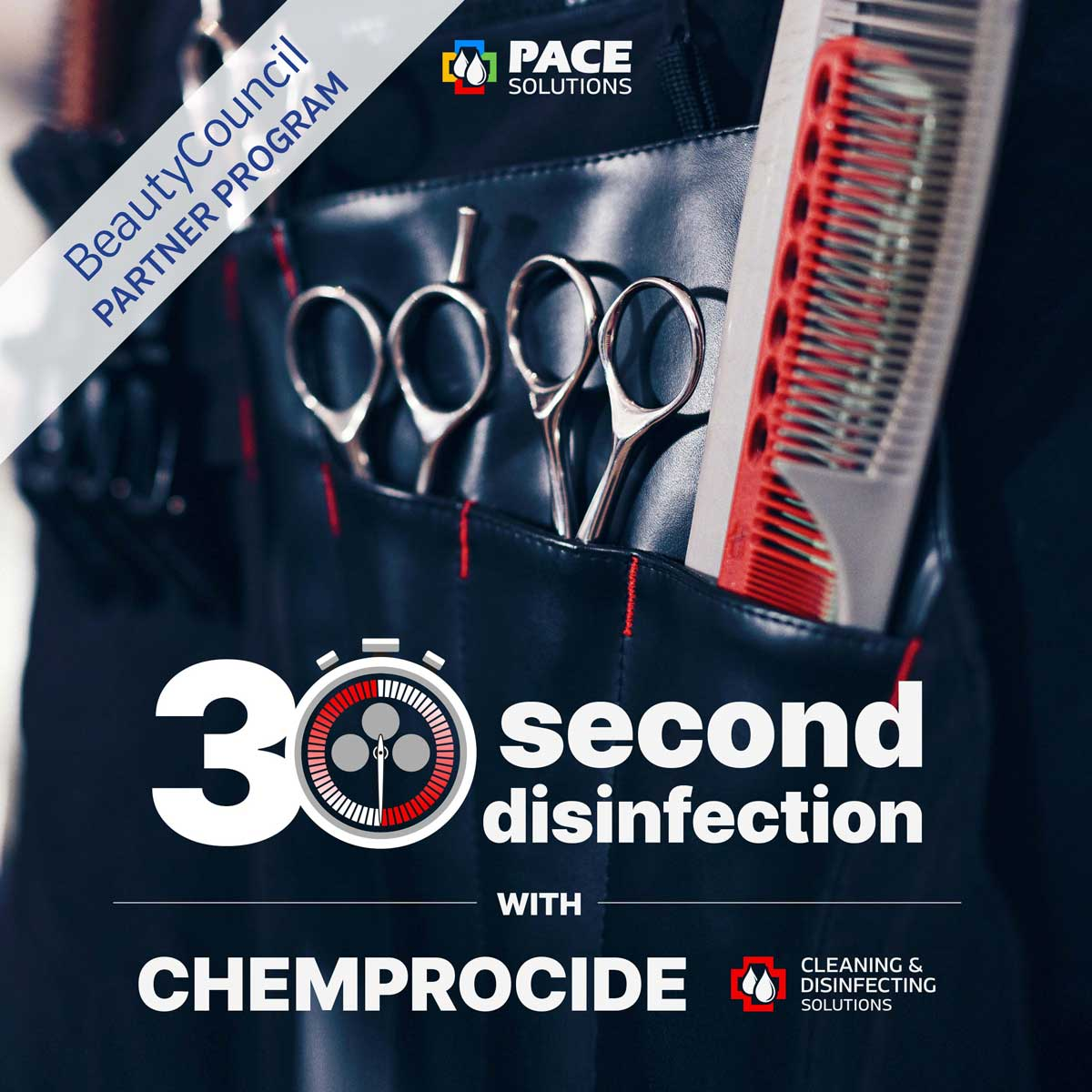 The Economical Disinfection Solution from Shears to Counters