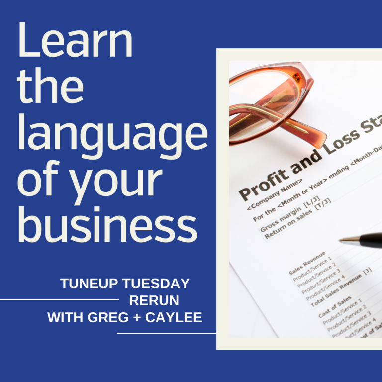Learn the Language of your Business