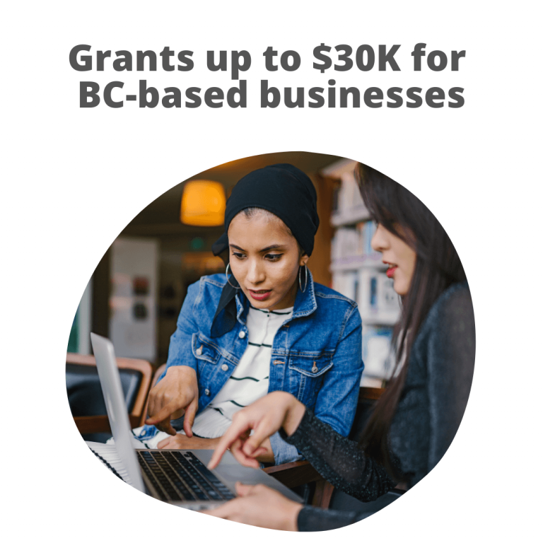 The BC Business Recovery Grant