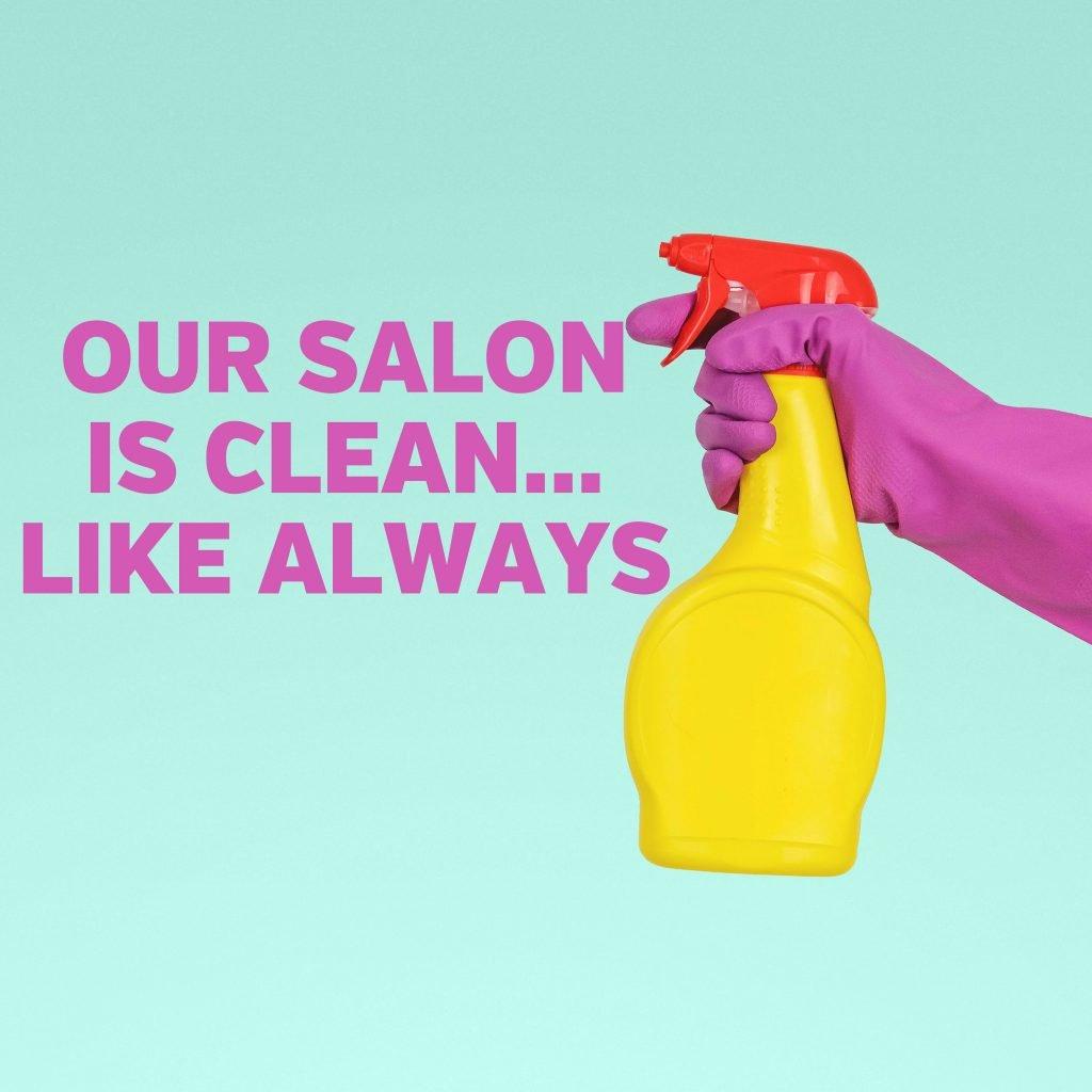 Bottle of cleaner
